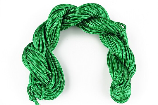 Ata nylon, grosime 2mm, 12m, verde