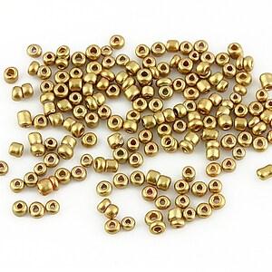 Margele de nisip lucioase 2mm (50g) - cod 183 - auriu