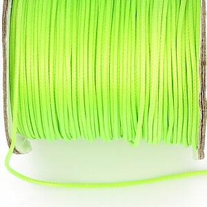 Snur cerat grosime 1mm, verde neon (1m)