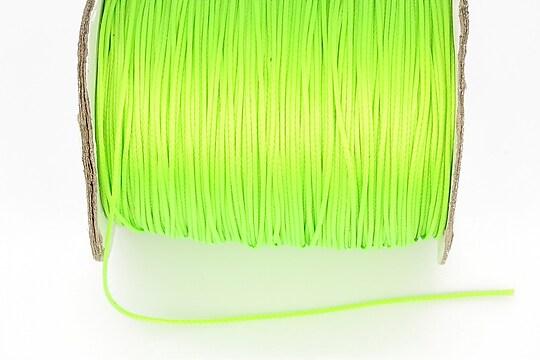 Snur cerat grosime 0,8mm, verde neon (1m)