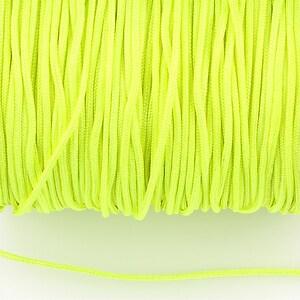 Snur nylon Taiwan grosime 1,5mm (1m) - verde neon