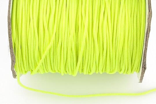 Snur nylon grosime 1,5mm (1m) - verde neon