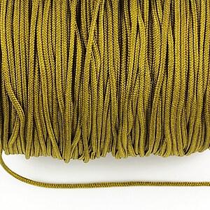 Snur nylon Taiwan grosime 1,5mm (1m) - verde kaki
