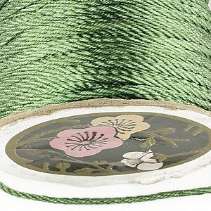 Snur nylon impletit grosime 2mm (1m) - verde salvie