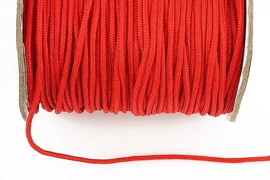 Snur nylon Taiwan grosime 2mm (1m) - rosu