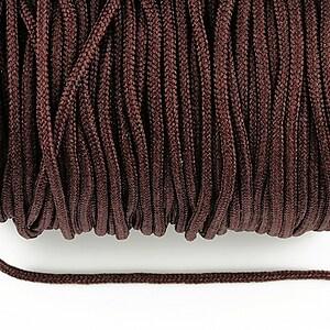 Snur nylon Taiwan grosime 2mm (1m) - maro