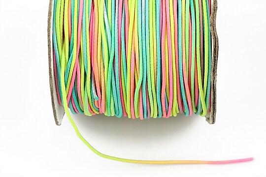 Elastic 1mm - multicolor (1m)
