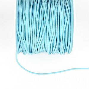 Elastic grosime 1,5mm, rola de aproximativ 13m - bleu
