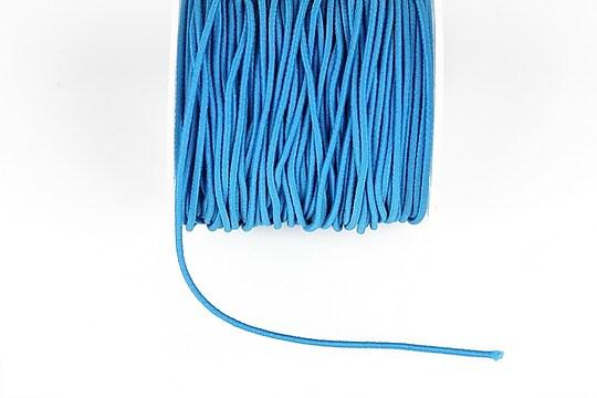 Elastic grosime 1,5mm, rola de aproximativ 13m - albastru primar