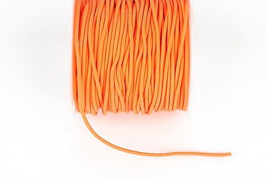 Elastic grosime 1,5mm, rola de aproximativ 13m - portocaliu