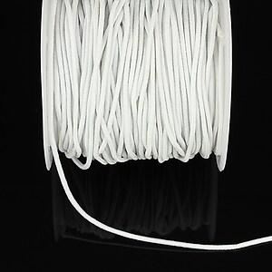 Elastic grosime 1,5mm, rola de aproximativ 13m - alb