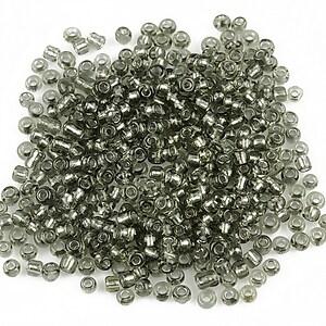 Margele de nisip 2mm (50g) - cod 225 - gri inchis