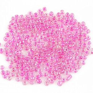 Margele de nisip 2mm (50g) - cod 227 - roz inchis