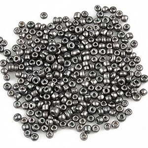 Margele de nisip 2mm (50g) - cod 236 - gri
