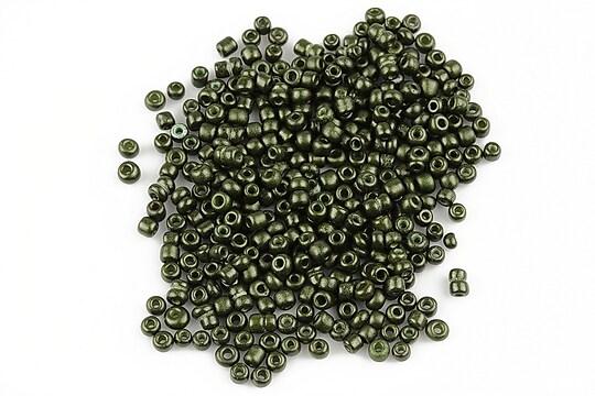Margele de nisip 2mm (50g) - cod 237 - verde inchis