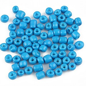 Margele de nisip 4mm (50g) - cod 252 - albastru
