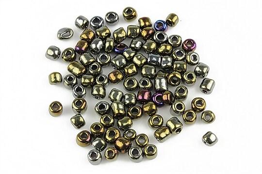 Margele de nisip 4mm (50g) - cod 261 - multicolor
