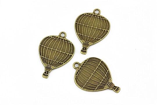 Charm bronz balon 24x17mm