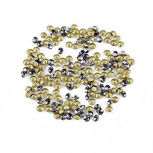 Cabochon rhinestone cristal 2mm (20 buc.) - mov