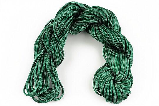 Ata nylon, grosime 2mm, 12m, verde inchis