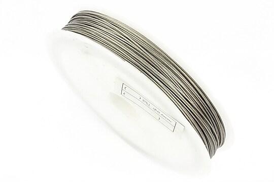 Sarma siliconata argintie grosime 0,60mm, rola de 22m