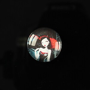 "Cabochon sticla 18mm ""Fairy tale"" cod 074"