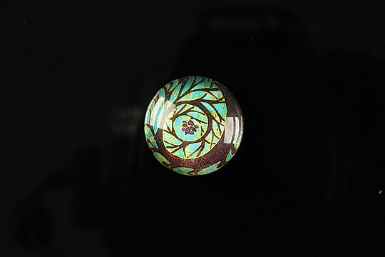 "Cabochon sticla 18mm ""Tree of life"" cod 091"