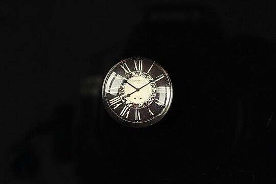 "Cabochon sticla 18mm ""Perfect time"" cod 095"
