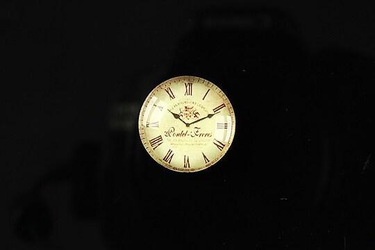 "Cabochon sticla 18mm ""Perfect time"" cod 096"