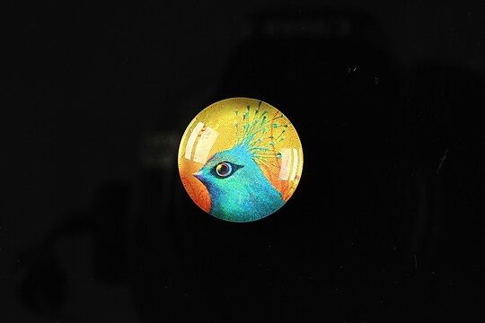 "Cabochon sticla 18mm ""Pretty friends"" cod 104"