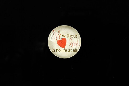 "Cabochon sticla 18mm ""Love letters"" cod 317"