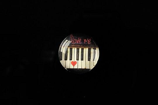"Cabochon sticla 18mm ""Love letters"" cod 319"