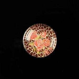 "Cabochon sticla 20mm ""Animal print theme"" cod 358"