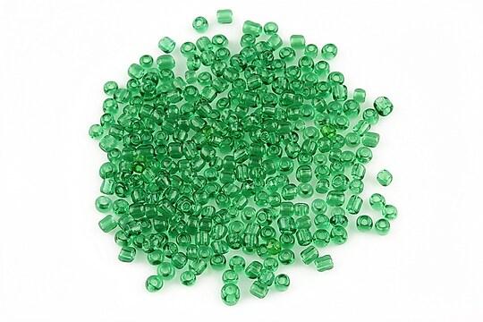 Margele de nisip 2mm (50g) - cod 039 - verde iarba