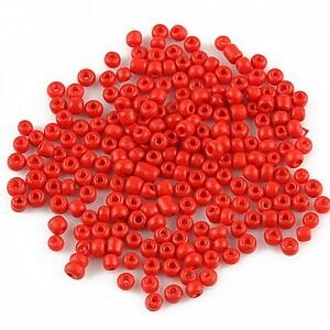 Margele de nisip opace 2mm (50g) - cod 140 - rosu