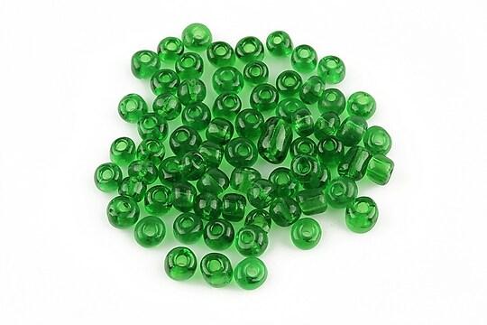 Margele de nisip 4mm (50g) - cod 073 - verde