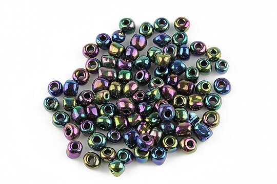 Margele de nisip 4mm (50g) - cod 120 - multicolor