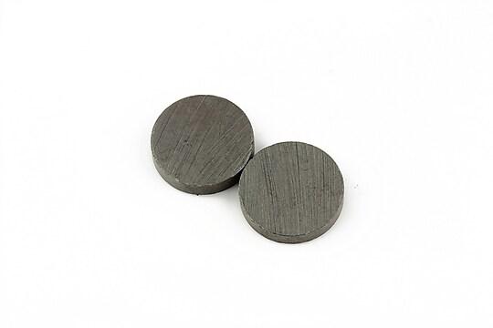 Magnet plat banut 15mm, grosime 3mm, negru