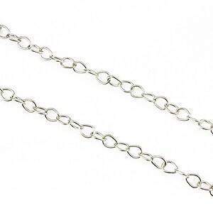 Lant argintiu inchis 4,5x5,3mm (49cm)