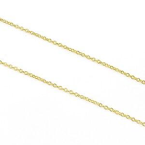 Lant auriu zale 2x2mm (49cm)