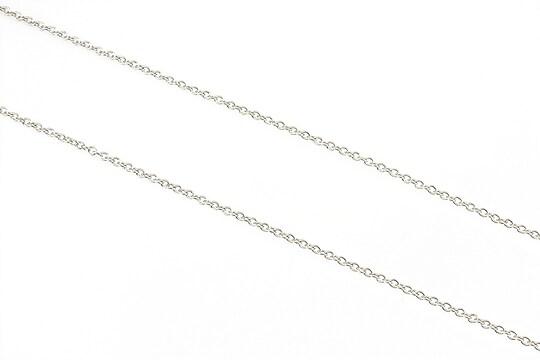 Lant argintiu inchis zale 2x2mm (49cm)