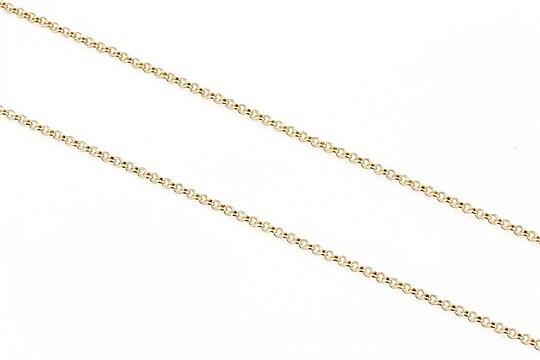 Lant auriu deschis zale rotunde 2mm (49cm)