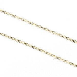 Lant auriu deschis 2,5mm (49cm)