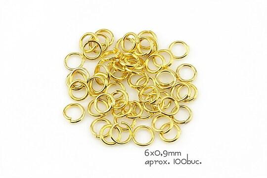 Zale aurii 6mm (grosime 0,9mm)