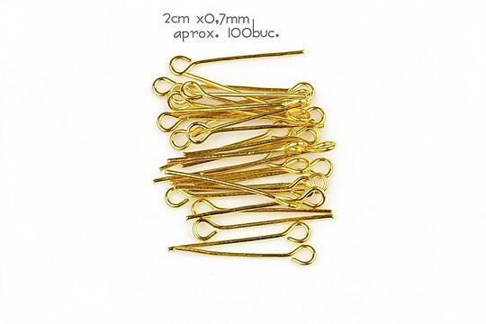 Ace cu bucla aurii 2cm