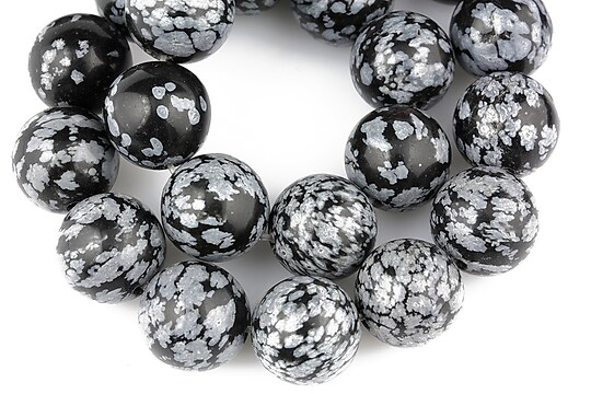 Snowflake obsidian sfere 12mm