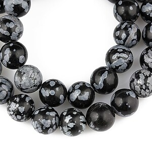 Snowflake obsidian sfere 8mm