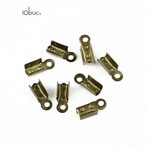 Capat snur bronz latime 3mm (3x10x4mm) (10buc.)