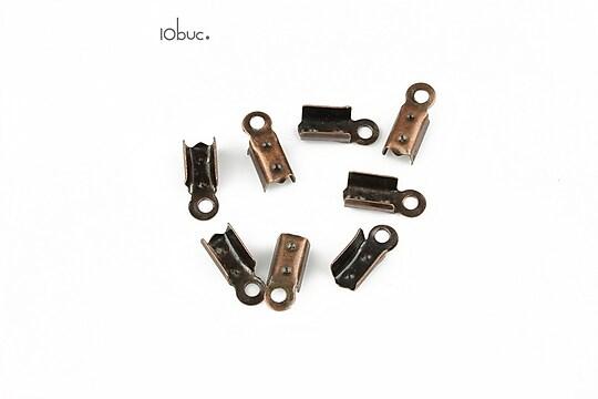 Capat snur cupru latime 3mm (3x10x4mm) (10buc.)