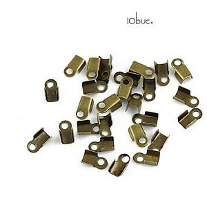 Capat snur bronz 3,5x5,5mm (10buc.)